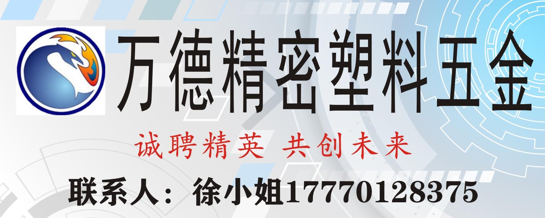 龙南万德精密塑料五金工业有限公司