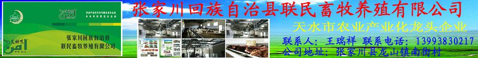 张家川回族自治县联民畜牧养殖有限公司