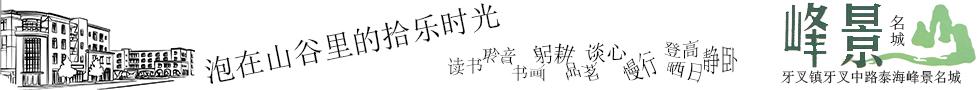 峰景名城楼盘 项目简介