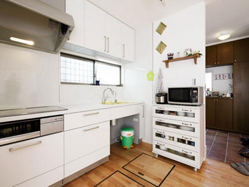 小清新气质家 日式风的三居室设计