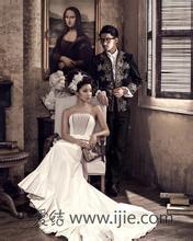欧式复古婚纱照