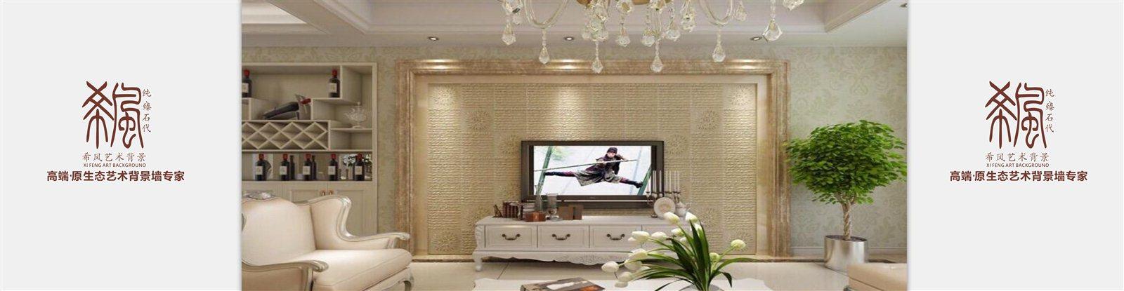 客厅的电视背景墙成了最吸引