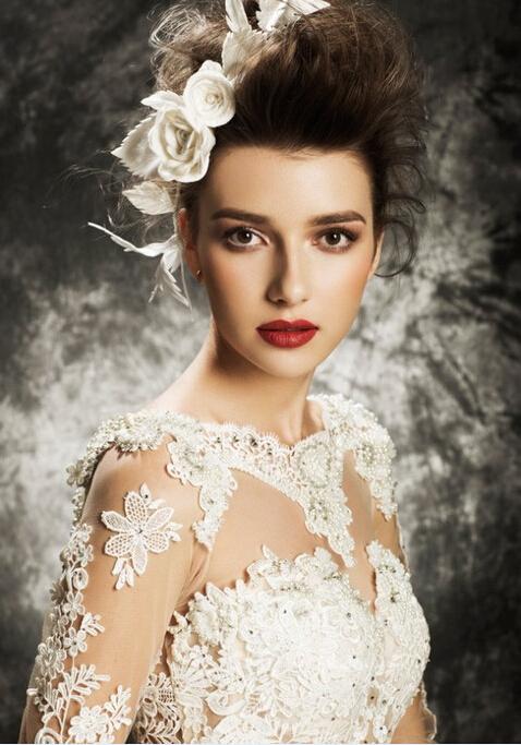 超级迷人新娘装!欧式复古新娘造型