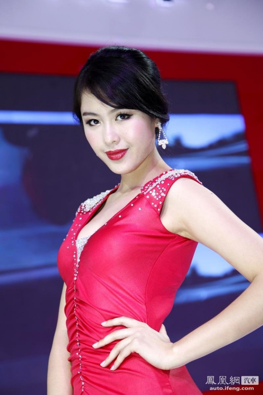 2012北京�展美女�模