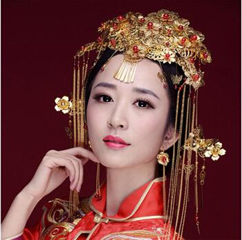 中式新娘短发妆分享展示