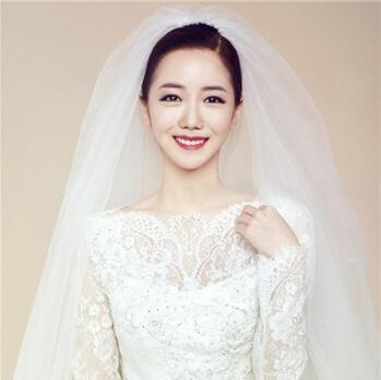 2016年韩式婚纱照新娘造型 流行的新娘发型都在这里-流行的新娘发型