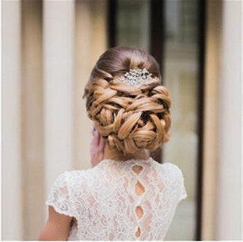 2016新娘发型详细步骤图解