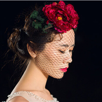 中式复古新娘发型图片 气质的新娘发型图片