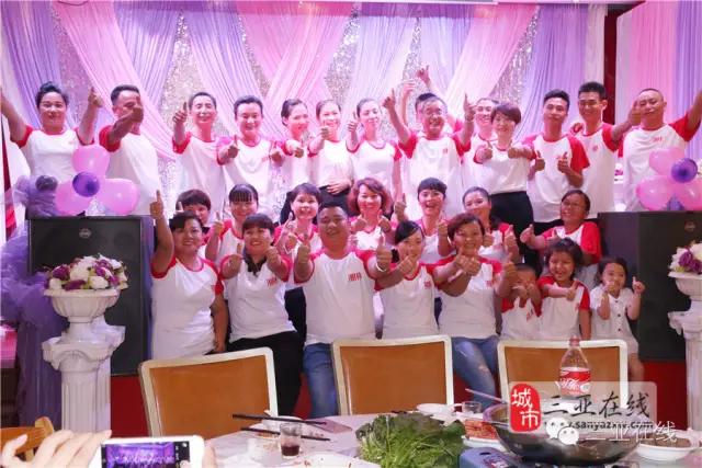 三亚火了十年的湘菜酒楼,600名员工相聚湘林欢度佳