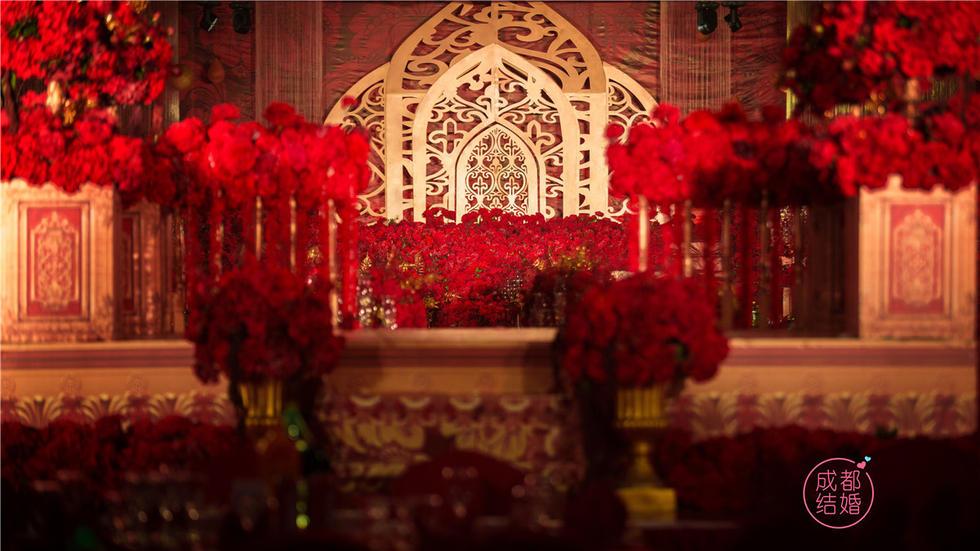 玫瑰花海婚礼
