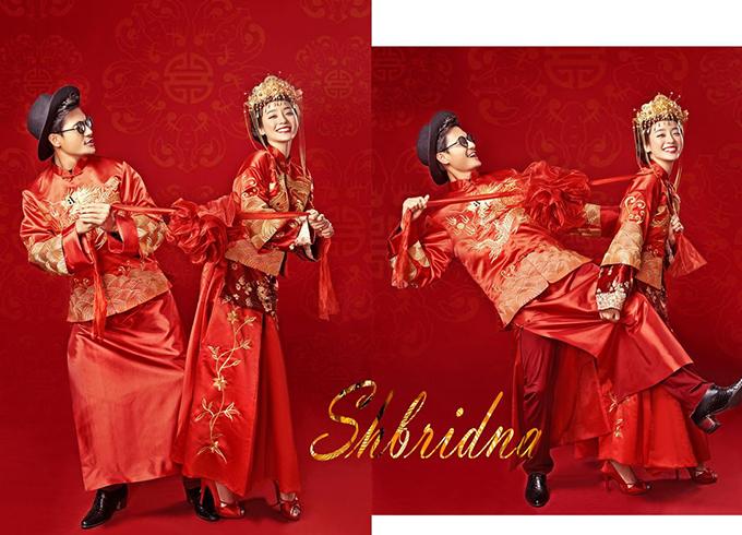 中国风婚纱照
