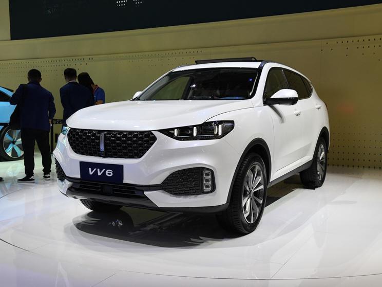2019上海车展:WEY VV6 Collie智行版