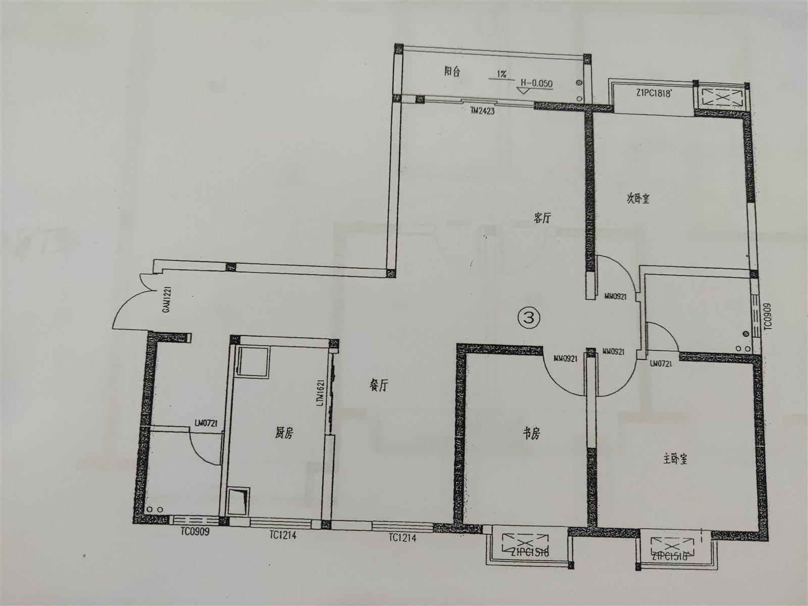 明阳文苑3室 2厅 2卫47万元