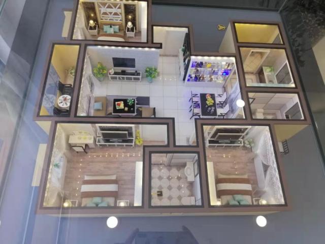 城建博悅城3室 2廳 1衛50萬元