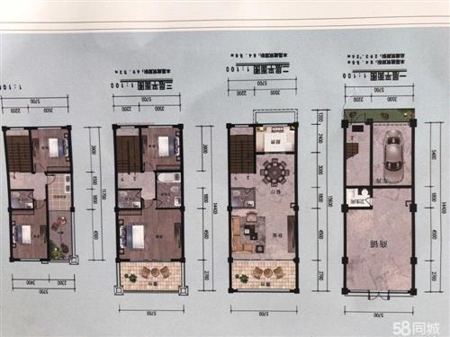 熹晖苑4室 3厅 4卫163万元