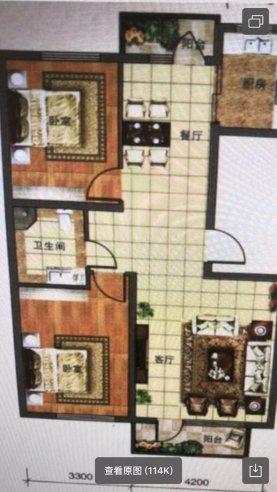 中天·桃花源2室 2厅 1卫55万元