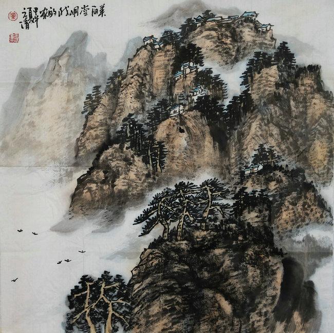 书画家曹玉海、上官丙利、党景荣艺术主页在定西书画传播网成功上线