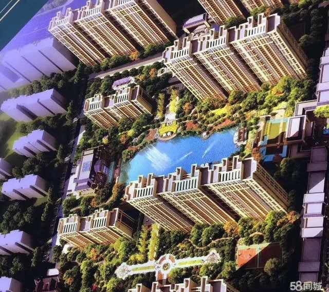 帝湖森林公園3室 2廳 2衛65萬元