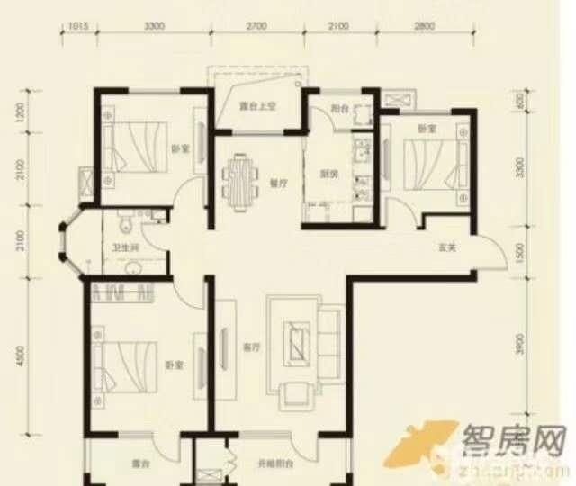 金星社区抵工程款3室 2厅 2卫31.8万元