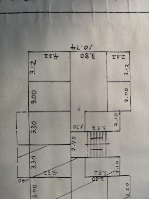 三高家属楼3室 2厅 1卫