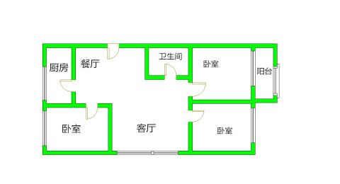 同祥苑3室 2厅 1卫91.69万元