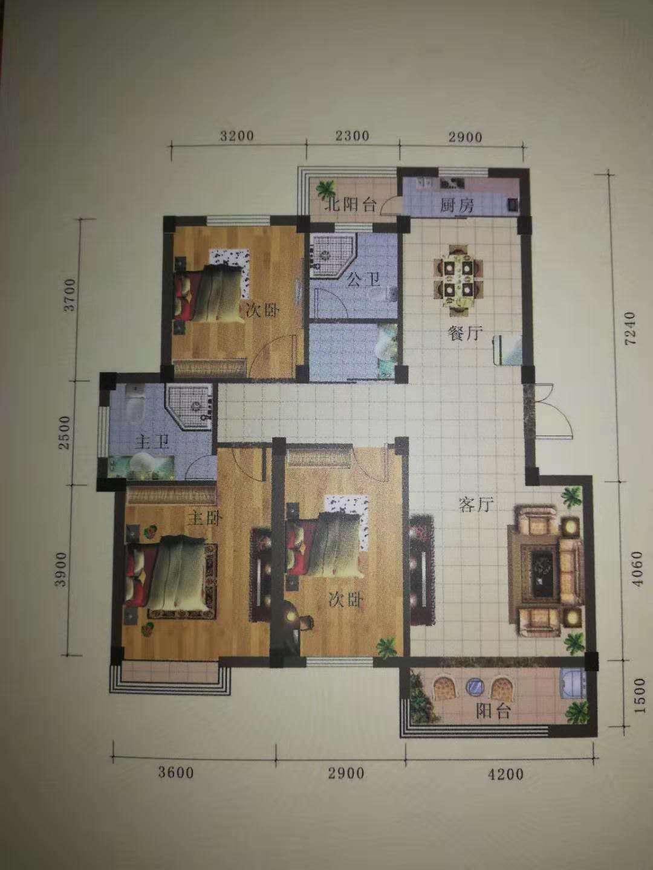 東城國際3室 2廳 1衛29萬元