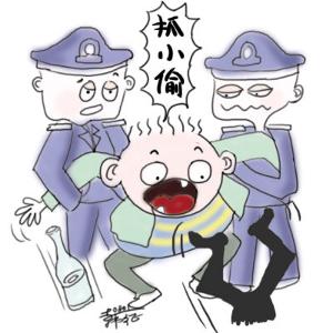 小偷保靖赶场天进行团伙盗窃后躲到花垣,汽车站门口遭擒获
