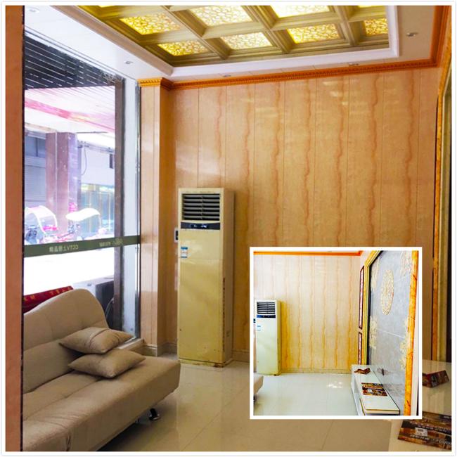 光顶,竹木纤维板